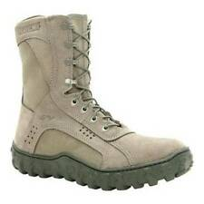 ROCKY SV2 SPECIAL OPS SAGE GREEN USAF COMBAT MILITARY BOOTS 10.5 10 1/2 WIDE