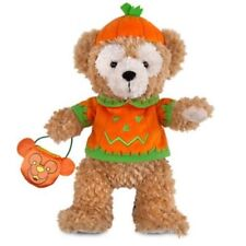 DUFFY THE DISNEY BEAR HALLOWEEN PLUSH DISNEY PARKS AUTHENTIC BEAR