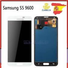 Pantalla Completa Para Samsung Galaxy S5 G900F i9600 Táctil LCD Display Blanco