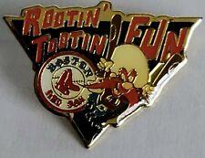 BOSTON RED SOX LOONEY TUNES YOSEMITE SAM 1993 MLB Baseball Lapel Pin Tac NEWwTag
