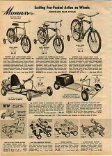 1962 ADVERT Gas &  Electric Battery Operated Go Cart Electra Car Berbro Mark IV