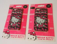 2 New, Sealed HELLO KITTY Covers for iPhone 5