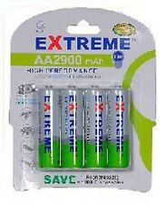 160 x 2900 MAH AA RECHARGEABLE BATTERIES-NI-MH- EXTREME