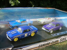 Hotwheels 1/43 Coffret 4 Chevrolet Camaro 1968