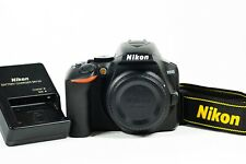 Nikon D3500 DSLR Camera Body - Very Low Shutter count only 1,195 shots