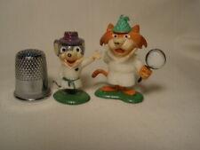 2 Vintage 1960s TV Marx Hanna Barbera TinyKins SUPER SNOOPER & BLABBER MOUSE