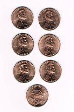 """2014 P&D LINCOLN SHIELD CENTS - 3 SETS OF 2 COINS (3 """"P"""" & 3 """"D"""") - UNC. COINS"""