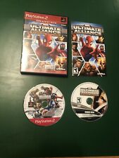 Marvel: Ultimate Alliance Special Edition (Sony PlayStation 2) Complete Tested