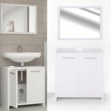 Ensemble meuble salle de bain - blanc, mat