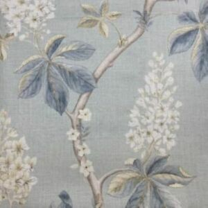 Sanderson Chestnut Tree Floral Curtain Fabric, Material 140cm Width