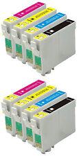 8 encres pour EPSON C64 C66 C84 C86 CX3600 CX3650 CX4600 CX6400 CX6600