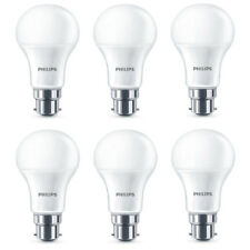 6x Philips LED Frosted B22 75w Warm White Bayonet Cap Light Bulbs Lamp 1055Lm