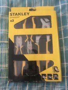 Stanley 0-74-471 Control Grip Pliers; Set (3)