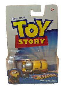 2010 Mattel Disney Pixar Hot Wheels Toy Story DASCH N' DOG Die-Cast Vehicle RARE