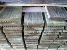 Pavimento esterno in legno 28x145x2000 mm. decking antiscivolo, parquet esterno