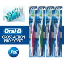 6Pcs Oral-B Ultra Thin Pro-Expert Cross Action Anti Plaque Manual Toothbrush noo