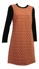 Polyester Shift Vintage Dresses for Women