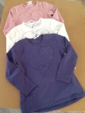 BNWT iDo Girls Long Sleeve Soft Jersey Top N907