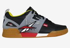 Reebok Workout Plus Altered Men's Sneakers Black Yellow Icon
