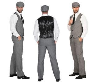 20er Jahre Peaky Blinders Anzug - Gr. 48 - 64 - Herrenanzug 20ties Kostümset