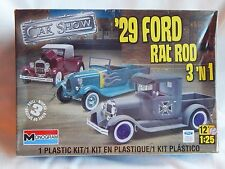 Monogram '29 Ford Rat Rod 3 in 1 Car Show Model Kit
