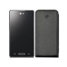 Etui LG OPTIMUS L5 II 2 cuir Haute qualité Marque Celly noir