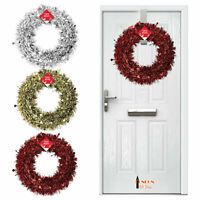 Plain Artificial  Spruce Wreath Rings Christmas Pine Wreath Xmas Door Craft UK