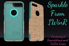 "Otterbox Commuter Series Custom Glitter Case for 5.5"" iPhone 7 Plus Gold/Teal"