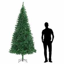 vidaXL Artificial Christmas Tree 300cm Green Party Holiday Decoration Plant