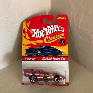 Hot Wheels Classics Series 1 Firebird Funny Car #18/25 Special Paint L12
