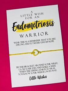 Endometriosis Awareness Wish Bracelet