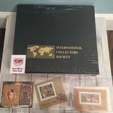 International Collectors Society Princess Diana 21st Birthday Stamps & Case