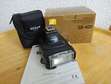 Nikon Speedlight SB-400 mit OVP und Handbuch top Zustand