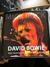 """DAVID BOWIE STARMAN BOX 7"""" RED VINYL & MICK ROCK PHOTOGRAPHY BOOK RSD LIMITED!!"""