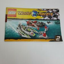 Lego World Racers Race 2 8897 **MANUAL ONLY**