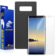 ArmorSuit - Samsung Galaxy Note 8 Screen + Black Carbon Fiber Skin