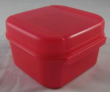 Tupperware a 166 Mini Bellevue boîte récipient BOX 450 ML corail rose rouge nouveau OVP