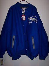 Mitchell & Ness Lions wool jacket size 64 5xl  new  retail 400$
