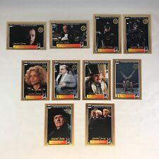 BATMAN RETURNS Dynamic Australia 1992 Complete LIMITED SERIES GOLD CARD Set (10)