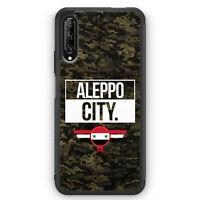 Aleppo City Camouflage Syrien Silikon Hülle für Huawei P Smart Pro Motiv Desi...