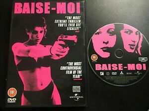 Baise-Moi DVD (2003) Raffaëla Anderson.Explicit French Thriller. Cult Free Post