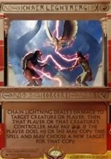 [1x] Chain Lightning - Foil [x1] Invocations Near Mint, English -BFG- MTG Magic