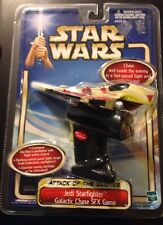 Star Wars Jedi Fighter Galactic Chase SFX Game Attack Of The Clone Obi-Wan AS IS