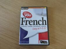 PC CD-ROM Teahcing you French - school - Home - Business - Travel easy as 1-2-3