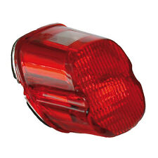 Lay Down Red Tail light lens & led Bulb to fit Harley-Davidson 2000 to 2003