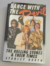 DANCE WITH THE DEVIL The Rolling Stones Stanley Booth AUTHOR SIGNED 1st ed