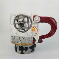 Nightmare Before Christmas Sally Tim Burton Neca Ceramic Relief Coffee Tea Mug