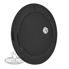 NEW Flat Black Locking Gas Fuel Door / FOR FORD F150 TRUCK PICKUP 1997-2003