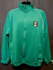NBN Gear Mexico Zip Up Jacket Cotton/Polyester Size XXL Free Shipping! Rare!