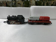 Marklin 8800 Z Scale Locomotive & Goods Wagon